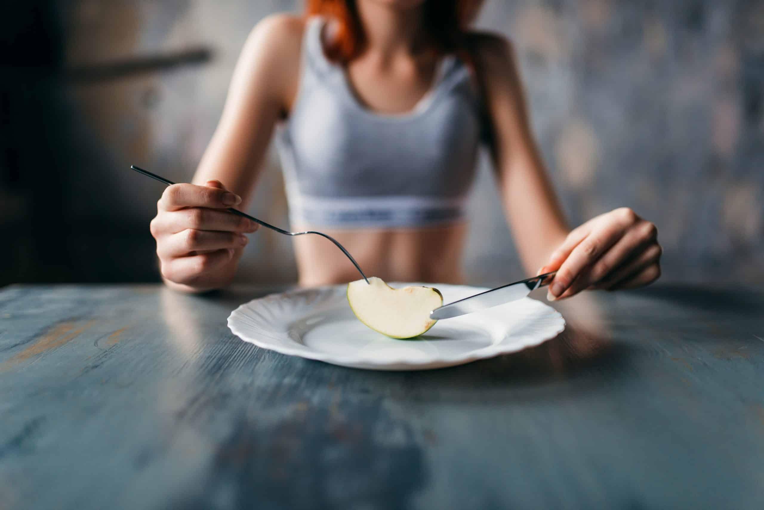 La pomme, aliment de l'anorexique